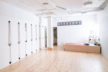 Lilla yogasalen, Iyengar Yogacenter i Göteborg