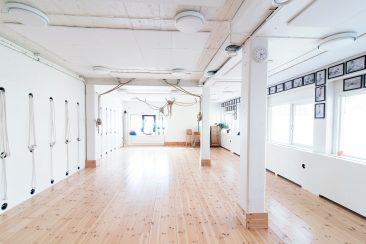 Stora salen, Iyengar yogacenter i Göteborg